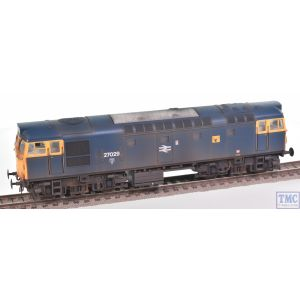 2718 Heljan OO Gauge Class 27 27029 BR blue with full yellow ends