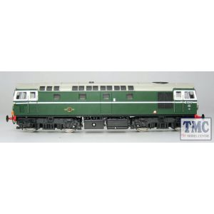 2726 Heljan OO Gauge Class 27 D5347 in green with small yellow panels