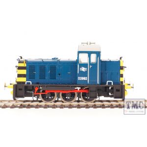 HEL2902 Heljan OO Scale Class 07 D2992 BR Blue Wasp Stripes