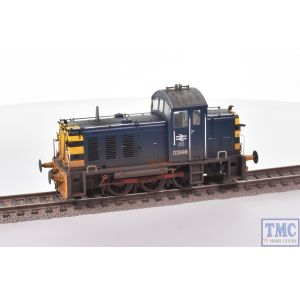 2907 Heljan OO Gauge Class 07 Shunter D2998 BR Blue Weathered by TMC