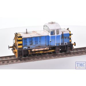 2909 Heljan OO Gauge Class 07 Shunter 07006 Powell Duffryn Blue/White with Deluxe Weathering by TMC