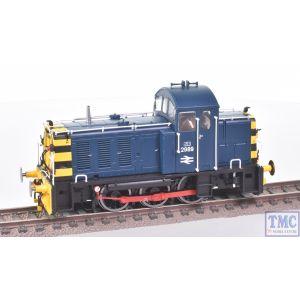 2914 Heljan OO Gauge Class 07 Shunter 2989 BR Blue