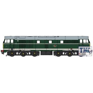 3104 Heljan O Gauge Clsss 31 BR green with small yellow panels