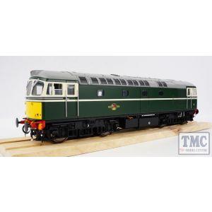 3394 Heljan O Gauge Class 33/0 BR Green Small Yellow Panels