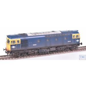 3437 Heljan OO Gauge Class 33/0 D6558 BR Blue Weathered by TMC