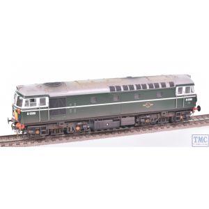 3446 Heljan OO Gauge Class 33/1 D6580 BR Green Weathered by TMC