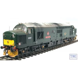 3740 Heljan O Gauge Class 37/4 BR green with small yellow panels as carried by 37411 (D6990)
