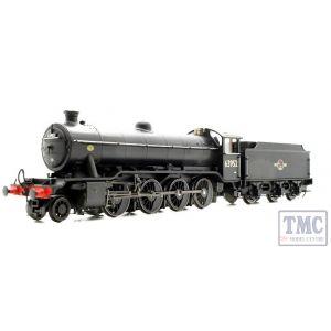 3913 Heljan OO/HO Gauge Class O2/3 Tango 63952 BR Black Late Crest