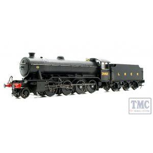 3920 Heljan OO/HO Gauge Class O2/4 Tango 3962 LNER Black