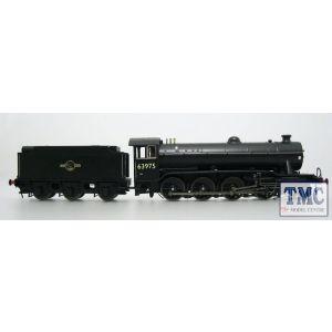 3922 Heljan OO/HO Gauge Class O2/4 Tango 63975 BR Black Late Crest
