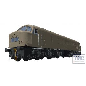 45104 Heljan OO Gauge Class 45 BR blue 64 Goldstream Guardsman with full yellow ends