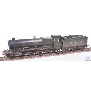 4782 Heljan OO Gauge Class 47XX Night Owl 2-8-0 4707 GWR Green Real Coal & Weathered by TMC