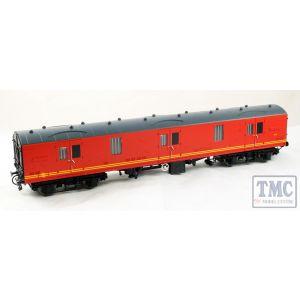 4990 Heljan O Gauge BR Mk1 57' GUV (General Utility Van) Parcels red
