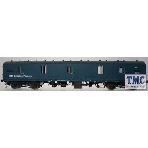 4993 Heljan O Gauge BR Mk1 57' GUV (General Utility Van) BR blue Express Parcels unnumbered