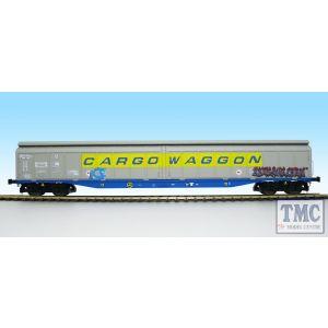 5051 Heljan O Gauge Cargow IWB 2797 591 CARGOWAGGON (grafitti version)