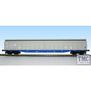 5052 Heljan O Gauge Cargow IWB 2797 672 silver/blue
