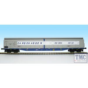 5053 Heljan O Gauge Cargow IWB 2797 589 GB-Continent