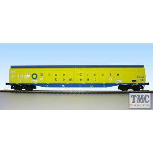 5054 Heljan O Gauge Cargow IWB 2797 669 Blue Circle
