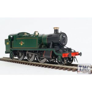 6104 Heljan O Gauge  GWR/BR 61xx 'Large Prairie'  BR lined green, late crest 6132 (81C)