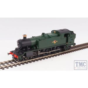 6122 Heljan O Gauge GWR/BR 61xx Large Prairie BR Late Crest Unnumbered