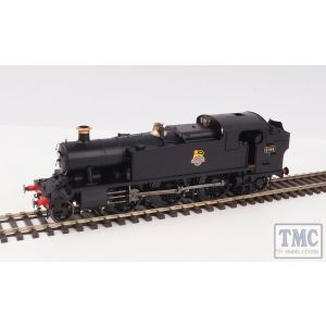 6125 Heljan O Gauge GWR/BR 61xx Large Prairie BR Early Crest Unnumbered