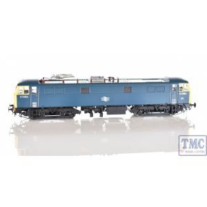8654 Heljan OO Gauge Class 86 BR Rail blue E3156 with double arrow logo and full yellow ends