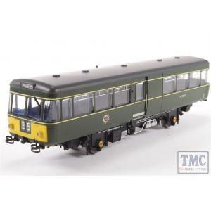 8753 Heljan OO Gauge Park Royal Railbus M79972 BR Green