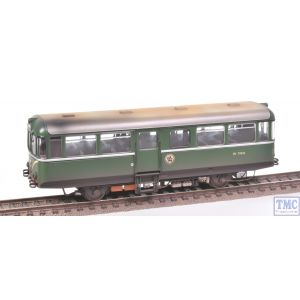88011 Heljan OO Gauge AC Cars Railbus W79976 BR Light Green w/Speed Whiskers Weathered by TMC