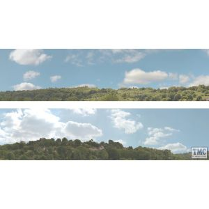 ID203A ID Backscenes OO Gauge Village 3 Metres Long in 2 sections 38cm x 300cm