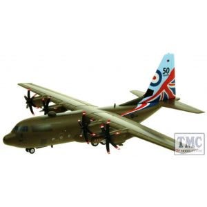 IFCLEV130883 Aviation 72 1/200 C-130 HERCULES RAF ZH883 50 YEARS LIMITED EDITION