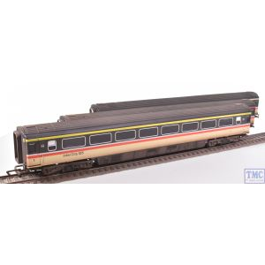 Hornby OO Gauge BR INTERCITY EXECUTIVE Livery Coach Pack Weathered by TMC (Pre-owned)