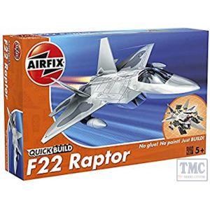 J6005 Airfix QUICKBUILD F22 Raptor