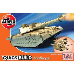 J6010 Airfix QUICKBUILD Challenger Tank Desert