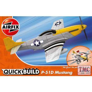 J6016 Airfix QUICKBUILD P-51D Mustang