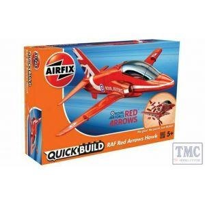 J6018 Airfix QUICKBUILD Red Arrows Hawk