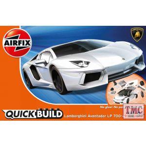 J6019 Airfix QUICKBUILD Lamborghini Aventador white