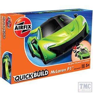 J6021 Airfix QUICKBUILD McLaren P1 green