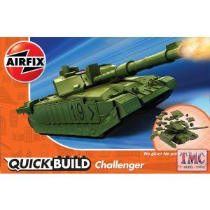 J6022 Airfix QUICKBUILD Challenger Tank Green