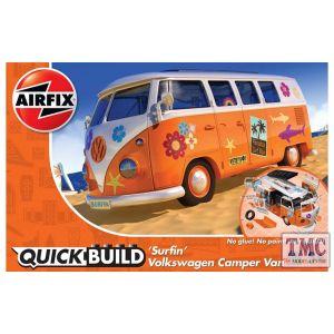 J6032 Airfix QUICKBUILD VW Camper Van 'Surfin'