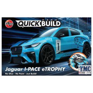 J6033 Airfix QUICKBUILD Jaguar I-PACE eTROPHY
