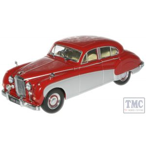 JAG8002 Oxford Diecast 1:43 Scale Claret/Mist Grey - MK 8 Jag
