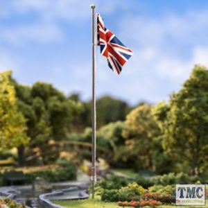 JP5959 Woodland Scenics Medium Union Jack Flag Pole