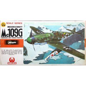 Hasegawa Messerschmitt Me109G Kit No JS-108 1:72 (Pre owned)