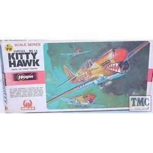 Hasegawa Curtiss Mk.1A Kitty Hawk Kit No JS-114 1:72 (Pre owned)