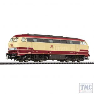 L132029 HO Scale Liliput Diesel Locomotive BR 753 Beige/Red DB Ep.IV