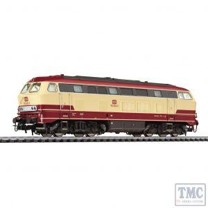 L132029 HO Scale Liliput Diesel Locomotive BR 753 Beige/Red DB Ep.IV