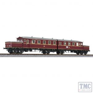 L133502 Liliput HO Scale 2 Car Accumulator Railcar EAT 180/018 DB Ep.II