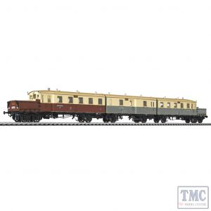 L133510 HO Scale Liliput Accumulator Railcar AT 535/535a/536 K.P.E.V Ep.I