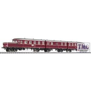 L133512 Liliput HO Scale Accumulator Railcar ETA 178 051 with Centre Coach DB EPIII