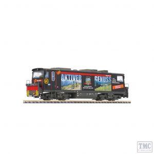 L142108 Liliput HOe Scale Diesel loco D15 Black Beauty Zillertalbahn Ep.VI